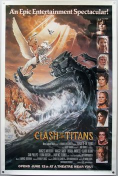 Clash of the Titans. Way better than the remake. The new one stinks.