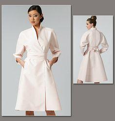 Vogue 1239 Robe , créateur Chado Ralph Rucci, tailles 34 à 40 ou 42 à 48