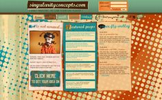 50 retro and vintage web designs