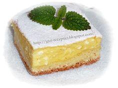 kelt túrós lepény Edible Flowers, Cake Cookies, Vanilla Cake, Cheesecake, Sweets, Baking, Fruit, Food, Breads