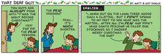 """That Deaf Guy"" comic---Christmas cheer! ;)"