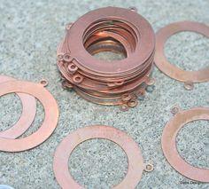 Finding Base metal large hoop by debsdesigns401 on Etsy, $3.25