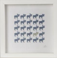 Moose, łoś, scandinavian, design, ikea
