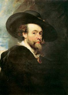 Peter Paul Rubens - Self Portrait related via geneology on husbands mothers,mothers side