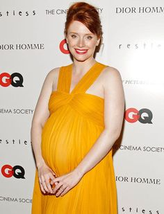 Bryce Dallas Howard  Pinned for BabyBump, the #1 mobile pregnancy tracker with the built-in community for support and sharing.
