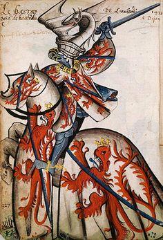 Tout sur l'héraldique : dessin de blasons et d'armoiries: Armorial équestre de la Toison d'Or : Jean de Luxe...