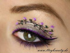 TimeToCreateYourBeauty: Geisha Look-die Blüten Version