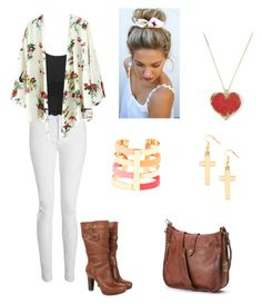 A Day with the Girls by kristyivette on Polyvore featuring polyvore, fashion, style, Topshop, Whistles, UGG Australia, Frye and Rainbowlink