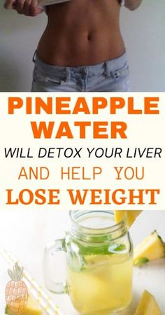 Pineapple Water Will Detox Your Liver, Help You Lose Weight, Reduce Joint Swelling And Pain! Flat Belly Challenge, Flat Belly Detox, Detox Your Liver, Tropical Fruits, Ways To Lose Weight, Lose Belly, Pineapple, Health, Recipes