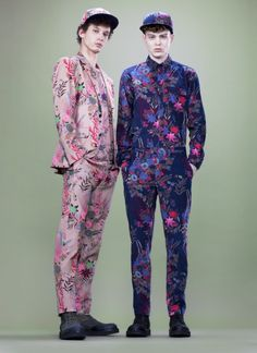 Abiah Hostvedt & Shane Gambill in Marc by Marc Jacobs Pre Fall 2013 Collection