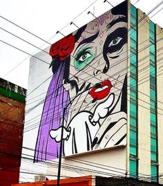 by D*Face in Mexico City, 10/15 (LP) | Street Art | Street Artists | Art | Urban Art | Modern Art | Urban Artists | Mural | Graffiti | travel | Schomp MINI