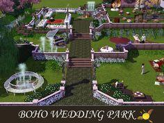evi's Sims 3 Downloads Sims 3, Baseball Field, Boho Wedding, Dolores Park, Travel, Viajes, Bohemian Weddings, Destinations, Traveling