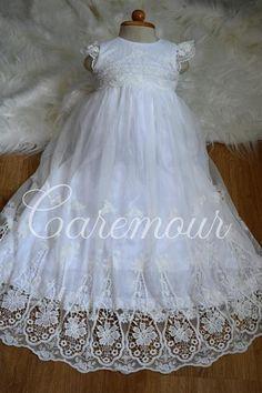 Baby & Toddler Clothing Beautiful Baby Girl Elegant Wedding Birthday Dress Size 12 Months High Resilience Girls' Clothing (newborn-5t)