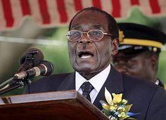 """Zimbabwe President Mugabe tells white people to """"Go back to England""""   Your Black World"""