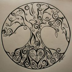 Love the girly tree of life. Goes with the designs of my other tats...