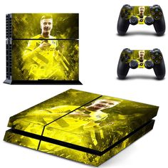 Marco Reus ps4 skin decal for console and 2 controllers