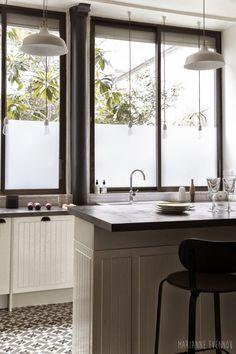 Una casa francesa con toques industriales de Marianne Evennou