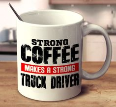 Start off the day strong with this unique mug! 11oz and 15oz versions available.