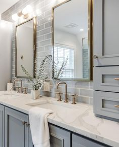 Design, determination, and DIY opinions for remodeling your master bathroom on a budget. Awesome DIY home projects, motivation for your house, and cheap remodeling ideas when it comes to master bathroom. Guest Bathrooms, Bathroom Renos, Small Bathroom, Basement Bathroom, Bathroom Renovations, Bathroom Makeovers, White Bathroom, Back Splash Bathroom, Light Grey Bathrooms