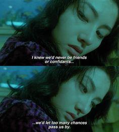 Tumblr Cinema Quotes, Film Quotes, Fallen Angel Movie, Fallen Angels, Cinema Movies, Film Movie, Movie Scene, Magnum Opus, Chungking Express