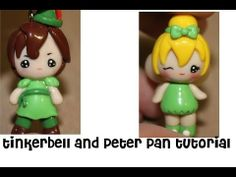 DIY Polymer Clay Tinkerbell and Peter Pan Tutorial