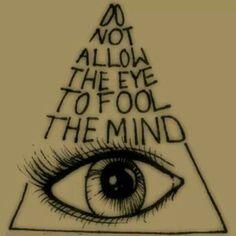 Illuminati eye tat