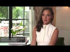 Gal Gadot Interview 2016 (Gal Gadot on Wonder Woman Batman vs Superman) Gal Gadot, Batman Vs Superman, Superman Film, Wonder Woman, Take The First Step, Interview, Hot, Celebs, Actors
