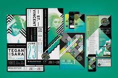 Saskatchewan Jazz Fest 2014 Posters by Firebelly Design, Chicago, IL.
