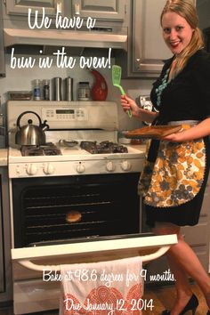 One of our pregnancy announcements  Blog: perksofbeingahousewife.wordpress.com