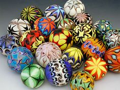 Art Glass Marbles handcrafted by Hulet Glass