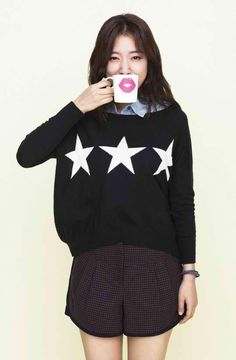 Park Shin Hye in love with her style. Uhn-nee, you're awesome!