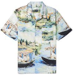 369f5cb12da8 Off-White - Camp-Collar Printed Cotton Shirt
