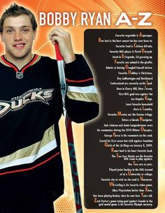 Bobby Ryan, A to Z