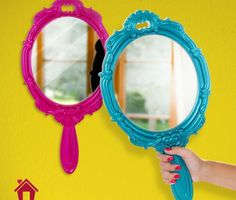 Espelho princesa - turquesa | Loja Virtual Uatt?