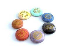 Natural Reiki Chakra Healing Stones