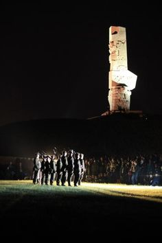 European Night of Museums at Westerplatte, Gdańsk, Poland