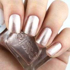 """Essie Gel Couture Bridal 2017 Collection in """"To Have & To Gold"""": Review and Swatches"""