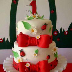 My ladybug cake
