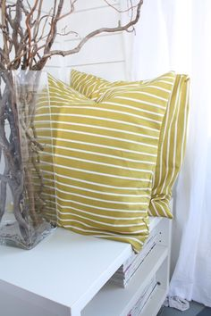 How to Make Pillow Cases from a Piece of Tablecloth | DIYNetwork.com
