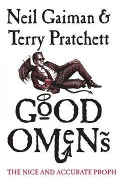 Fantasy Book Covers, Fantasy Books, Neil Gaiman, Reading Online, Books Online, Reading 2016, Don Delillo, Good Omens Book, Terry Pratchett