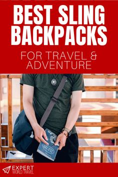Discount Airfares Through The USA To Germany - Cost-effective Travel World Wide Check Out Some Of The Best Sling Backpacks For Any Kind Of Travel And Adventure. These Stylish Picks Will Keep You Comfortable And Your Things Safe. Travel Backpack, Sling Backpack, Kids Luggage, Suitcase Packing, Travel Expert, Buy Bags, Adventure Travel, Good Things, Backpacks