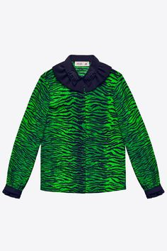 H&M x Kenzo Blouse, $79.99, available on November 3 at H&M. #refinery29 http://www.refinery29.com/2016/10/126037/hm-kenzo-full-collection-photos#slide-13