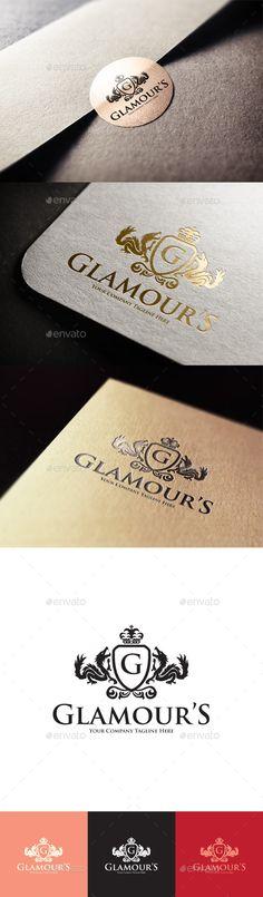 Glamour's Logo Template #design #logo Download: http://graphicriver.net/item/glamours-logo/11458262?ref=ksioks