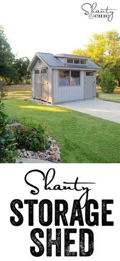 Whitney's Woodtex Garden Shed with Dormer - custom colors fit with her home! Would be great for a home gym.