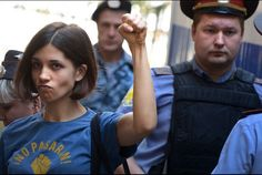 """Three of its members — Nadezhda Tolokonnikova, Yekaterina Samutsevich, and Maria Alyokhina — were sentenced to two years in prison for having the temerity to reveal that Russia's democracy is an emperor without clothes. The official charge against the three young women was """"hooliganism,"""" which sounds like something out of a """"Dennis the Menace"""" comic, and the trial itself was a cartoonish mix of judicial intimidation, religious hypocrisy and rote political thuggery."""
