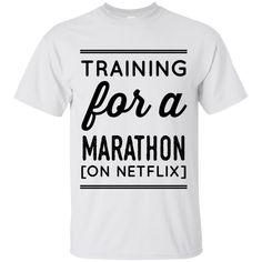 Training for a marathon ( on netflix) T-Shirt