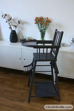 Ciloubidouille » Chaise haute customisée
