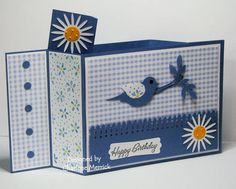 Gingham Wiper CKM by LilLuvsStampin - Cards and Paper Crafts at Splitcoaststampers