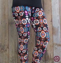 Put them on your body and the party won't stop because every day is a party when you let the beat drop! Our let the beat drop leggings are the biggest party starter of the year! Built to keep you comfortable while you dance the night away, and covered with fashion forward flare from top to bottom!
