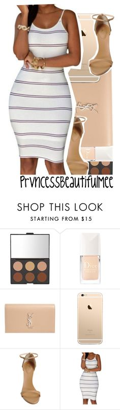""""""""""" by prvncessbeautifulmee ❤ liked on Polyvore featuring Christian Dior, Yves Saint Laurent and Giuseppe Zanotti"""